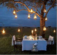 decoração / bares / restaurantes / rustico / bistro / decor / outdoor / restaurant / lights