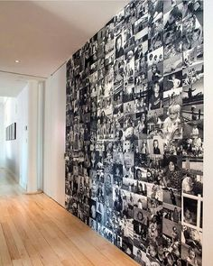 wohnideen flur fotowand · ratgeber haus garten delivers online tools that help you to stay in control of your personal information and protect your online privacy. Deco Cars, Future House, My House, Black And White Photo Wall, Black White, Pretty Black, Black Metal, Diy Casa, Diy Home