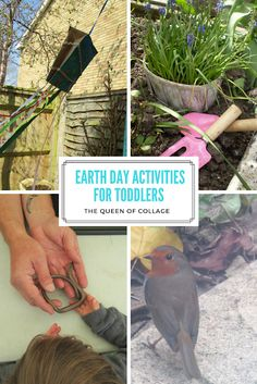 The Queen of Collage: Earth Day Activities for Toddlers