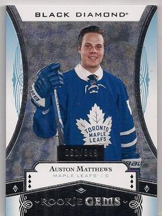 Detailed and Fast Loading Checklist Information for All Toronto Maple Leaf Hockey Card Hits Hockey Stuff, Hockey Cards, Toronto Maple Leafs, Upper Deck, Black Diamond, Trading Cards, I Card, Gems, Passion