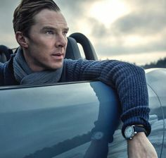 "<3 Nice <3  partial profile of Ben with a smooth frontal shot ...... he is just so manly <3   *""Why yes, I would love a ride...with you....""*"