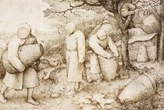 the beekeepers and the birdnester 1568 by Pieter Bruegel the Elder ...