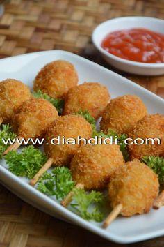 Bento Recipes, Cooking Recipes, Healthy Recipes, Cute Food, Good Food, Yummy Food, Diah Didi Kitchen, Indonesian Food, Indonesian Recipes