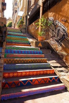 Caltagirone, Sicily: one of the most famous and wonderful stairs in the world……