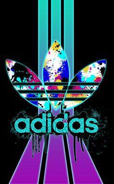 Adidas // Fond d'ecran // Iphone Wallpaper // Tendance // Logo // Fashion