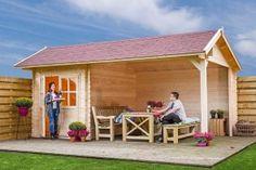 Tuinhuis/Blokhut Fonteyn Leonie #tuinhuis #blokhut #shed #garden #outdoor <3 #Fonteyn