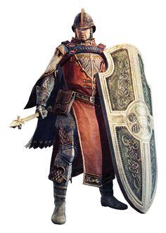 m Cleric med armor shield helm mace cape urban Royal Constable Visionneuse d'images du jeu Dragon's Dogma Online - PC sur Jeuxvideo.com