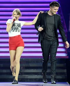 Taylor Swift and Danny O'Donoghue