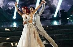James and Sharna DWTS Finale