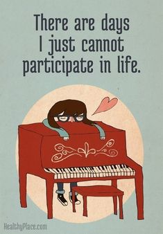 I Love My Piano - Illustration Print
