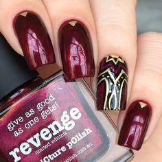 "Picture Polish ""Revenge"" & Kaleidoscopic 09"