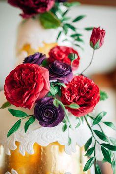 Sugar Flower Sugar Lace Wedding Cake | Craftsy