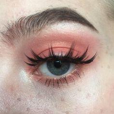 𝘗𝘪𝘯𝘵𝘦𝘳𝘦𝘴𝘵 ↠ peachy makeup look, pink makeup, eye makeup, beauty makeup Eye Makeup, Pink Makeup, Glam Makeup, Pretty Makeup, Makeup Inspo, Makeup Art, Makeup Inspiration, Beauty Makeup, Hair Makeup