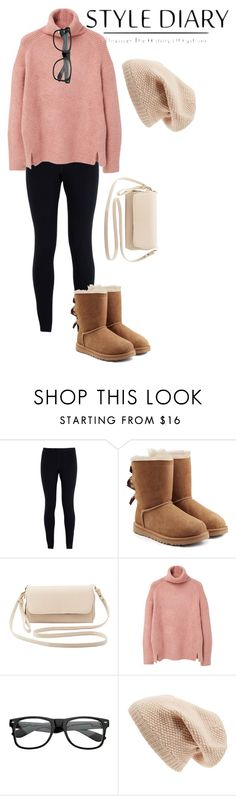 """""""On the Go"""" by avery-22 on Polyvore featuring NIKE, UGG Australia, Charlotte Russe, MANGO, Sole Society, women's clothing, women, female, woman and misses"""