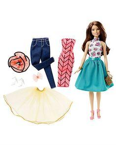 Кукла Брюнетка Сочетай и наряжай Barbie | Barbie.Ru | Барби в России