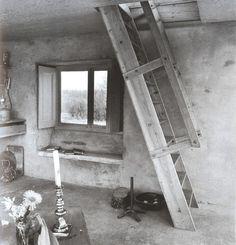 Alison & Peter Smithson - Upper Lawn Pavilion - Solar Pavilion - UK - 1962 - Stairs
