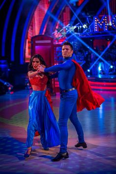 Mark Wright and Karen Hauer, strictly come dancing 2014 week 3 movie week