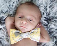 Newborn, baby boy, bow tie photos