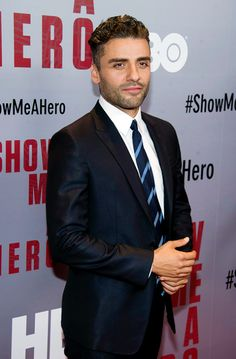 """Oscar Isaac attends """"Show Me A Hero """" New York screening at The New York Times Center on August 11, 2015 in New York City."""