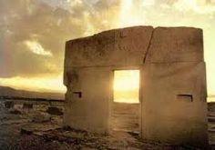Porta do Sol, de Tiahuanaco (Bolívia)