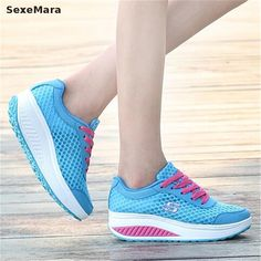 New 2017 Women Increased Shoes Breathable Casual Shoes Ladies Walking Tenis Shoes basket femme Fluorescent Shoes Footwear