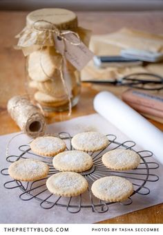 Soetkoekies Recipe | Recipes | Edible Christmas Gifts | Christmas Inspiration | Photography by Tasha Seccombe