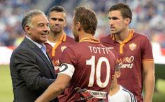 ROMA, ECCO IL RINNOVO DEL CAPITANO! #roma #totti #rinnovo