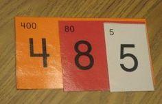 Cartes de numération à télécharger