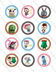 Disney Sheriff Callie Wild West Birthday Party by KrittsKreations, $5.00