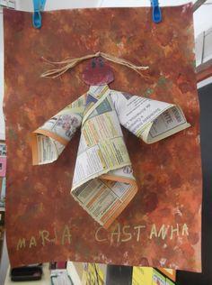 Maria Castanha Kindergarten Class, Diy And Crafts, It Cast, Classroom, Education, Halloween, School, Painting, China
