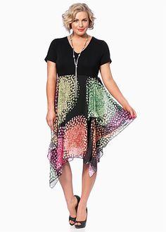 Plus Size Dresses Online | Dresses - Plus Size, Large Size Dresses for Australian Women - CONNECT THE DOTS DRESS - TS14