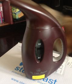 MY LITTLE STEAMER Portable Hand Held Steamer by JOY MANGANO on Air Demos HSN EUC