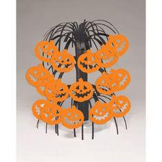 Mini Cascading Pumpkin Centerpiece 8.5in
