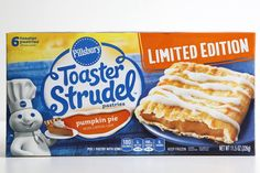 Pin for Later: 80+ Pumpkin Spice Products, Ranked From Worst to Best Pillsbury Pumpkin Pie Toaster Strudel