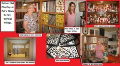 ButtonArtMuseum.com - Several years ago a new friend named Keri moved from Fort Worth to Little Rock. She was a quilter and a button collector. After settling in she came to the Arkansas Quilters Guild and sorta just fit right in. She had a bunch over to her house to show us her button collection and from that invitation she formed a Button Club