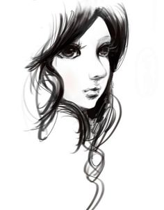 Simple but beautiful :) Wanna get on your level girl :D ... or guy... Don't really know who draw this >.<