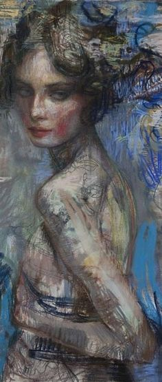 My art goal is to own one of these Charles Dwyer paintings, which I first saw at playboy in Chicago when they were $5000