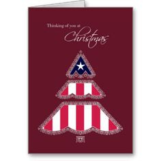 Thank you for Your Service at Christmas, Patriotic Cards More