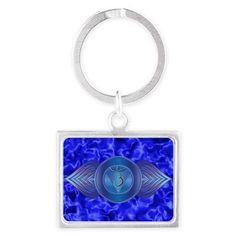 Third Eye Chakra Keychain