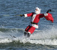 Santa spends his summers lake living in North Carolina.  Learn why at http://www.nclakefront.com/video.cfm?vname=video1