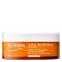 Biotherm Biosource Total Renew Balm-to-Oil Deep Cleanser & Makeup Remover Make Up Remover, How To Remove, How To Make, Cleanser, The Balm, Skin Care, Deep, Oil