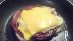 Bologna Sandwich | Grilled Fried Egg, Bologna and Cheese Sandwich. Photo by Chef #2706338