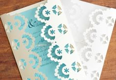 Using simple materials, you can create your very own beautiful, inexpensive wedding or bridal shower invitations using Cricut Explore. Courtney Cerruti demonstrates how to load the lace template into the Design Space, - Creativebug