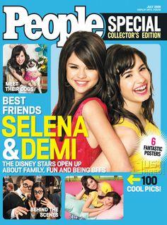 demi lovato magazines | Demi Lovato And Selena Gomez On The Cover Of People Magazine | Disney ...