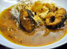 You don't have to be Bengali to love the simple comfort of fragrant fish curry & hot rice. A recipe that is favorite at my my house