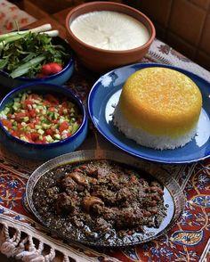 Wallpaper Shelves, Iran Food, Mix Match Outfits, Persian Culture, Mediterranean Diet Recipes, Arabic Food, Iranian, Pudding, Yummy Food