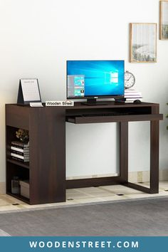 Wooden Computer tables online for your home & office to enhance the working space. Whether it is about choosing a desktop work-desk for your home business or setting up your fifth-grader's first PC, a computer desk can prove to be the right choice. Study Room Furniture, Room Furniture Design, Unique Furniture, Wooden Furniture, Kids Study Desk, Work Desk, Modern Study Rooms, Home Office Table, Office Chairs
