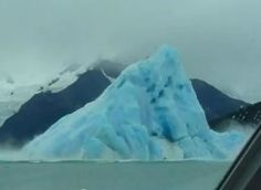 Iceberg Tips Over, Is Caught On Tourist Camera (VIDEO) - June 1, 2012