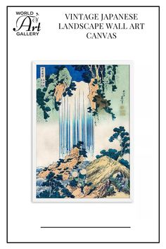 Adding these Vintage Japanese Landscape Wall art Canvas to your home will quickly enhance the aesthetic appeal of the room and help you create a welcoming atmosphere. All of our eye-catching artworks are printed on cotton canvas with fade-resistant, waterproof inks so that you can enjoy them for many years to come.. They are safe to use in rooms or bedrooms of children because they are non-toxic and contain no harmful chemicals.