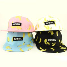 Boys Girls Banana Sun Kids Children Baseball Hip Sport Pop Cap Flat Snapback  Hat dd97a6bb7b1d